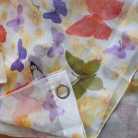 Dijon butterfly curtain