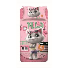 44 cats Milady cotton bed set