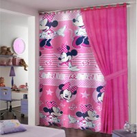 Minnie mouse ready made curtain