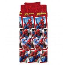 Spiderman cotton bed set