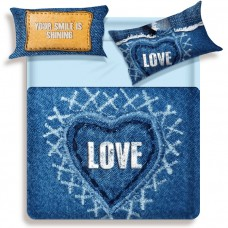 Biancaluna Miss Terry Love king size bed set sheets