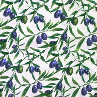 Olives cotton fabric Loneta