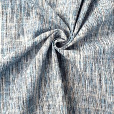 Raw fabric by the meter light blue and sand