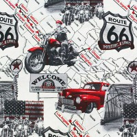 Route 66 Loneta fabric
