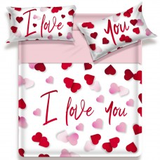 Biancaluna Miss Terry I love you king size bed set sheets