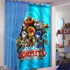 Gormiti ready made curtain