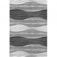 Gako grey waves carpet 100x180