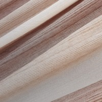 Brown and beige bands curtain