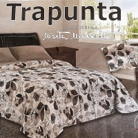 brown leaves Marta Marzotto quilt