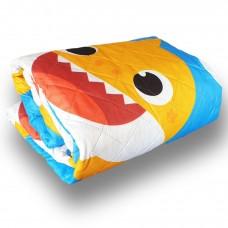 Pink Fong Baby shark soft quilt